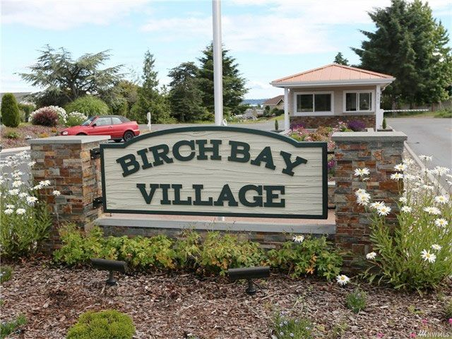 Birch Bay Village Main Gate