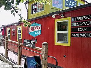 The Railway Cafe in Blaine WA