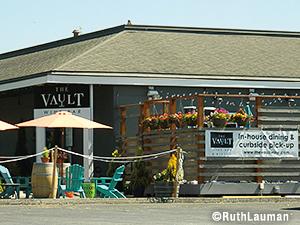 The Vault Wine Bar in Blaine WA