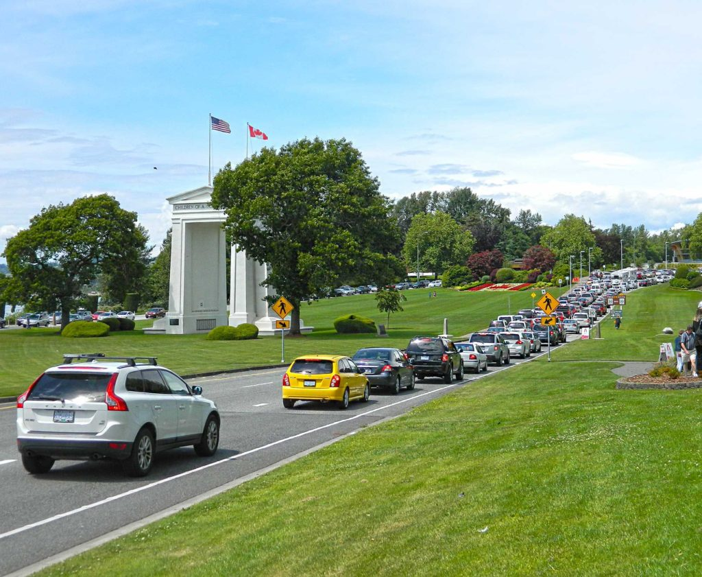Peace Arch State Park in Blaine WA