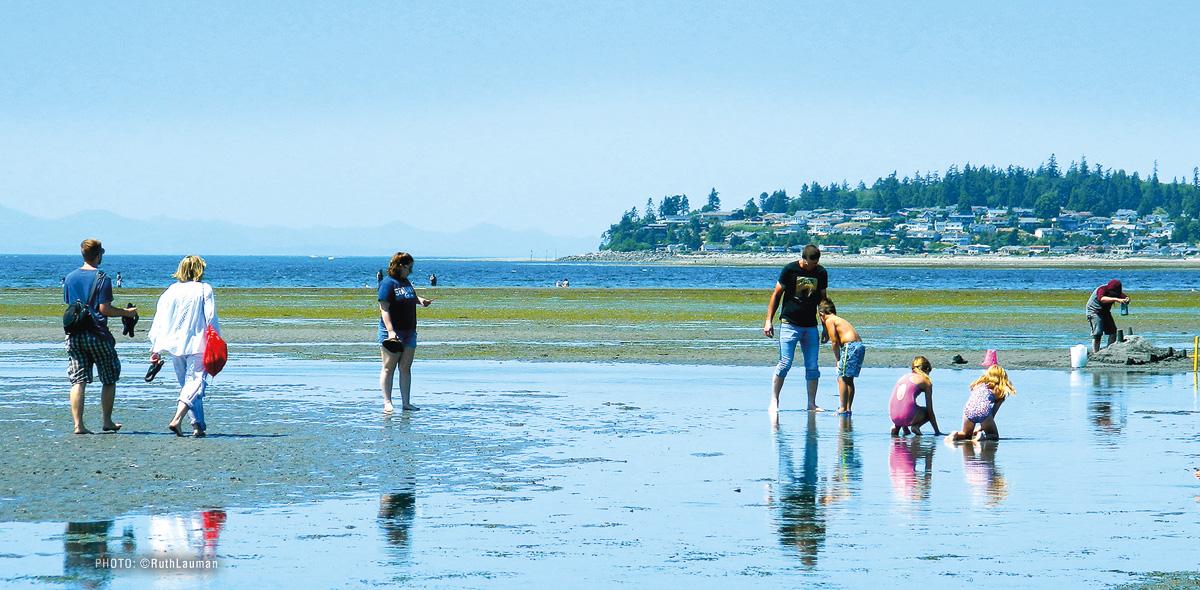 Family fun on the Beach in Birch Bay WA