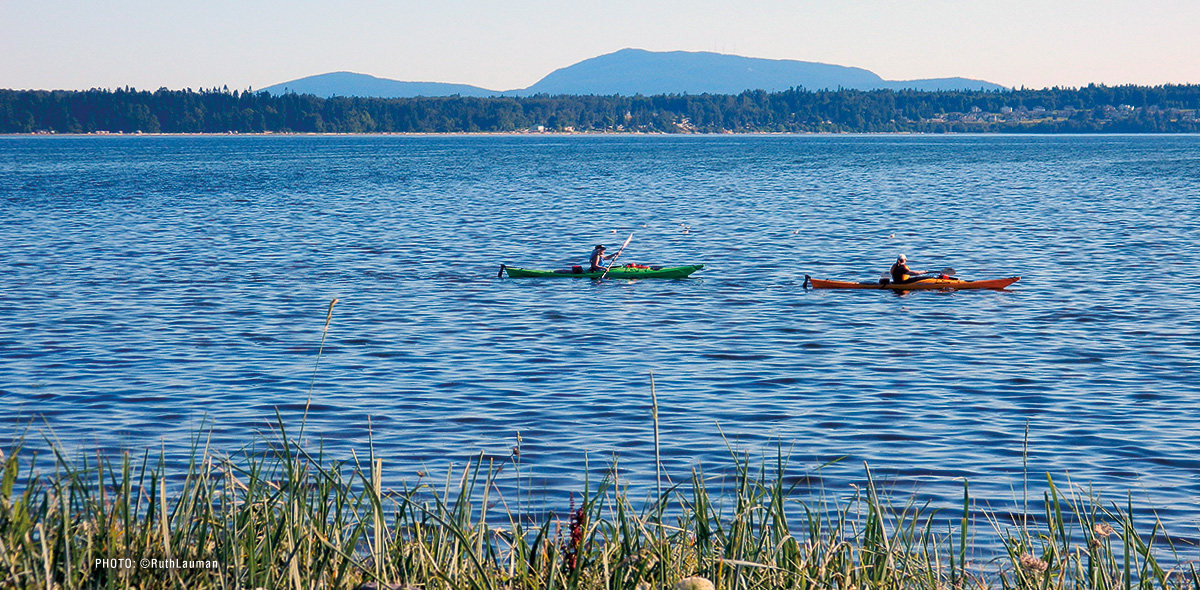 Kayaking in Birch Bay WA
