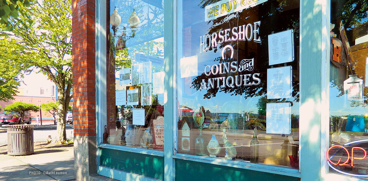 Horseshoe Antiques and Coins in Blaine WA