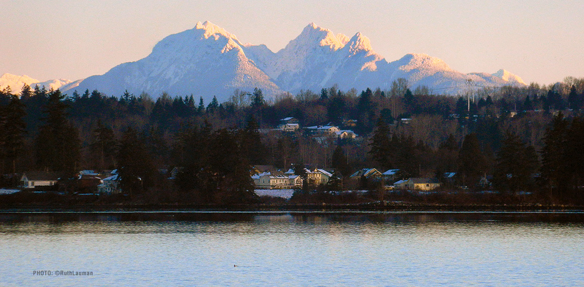 Canadian Mountain Range - Drayton Harbor Blaine WA