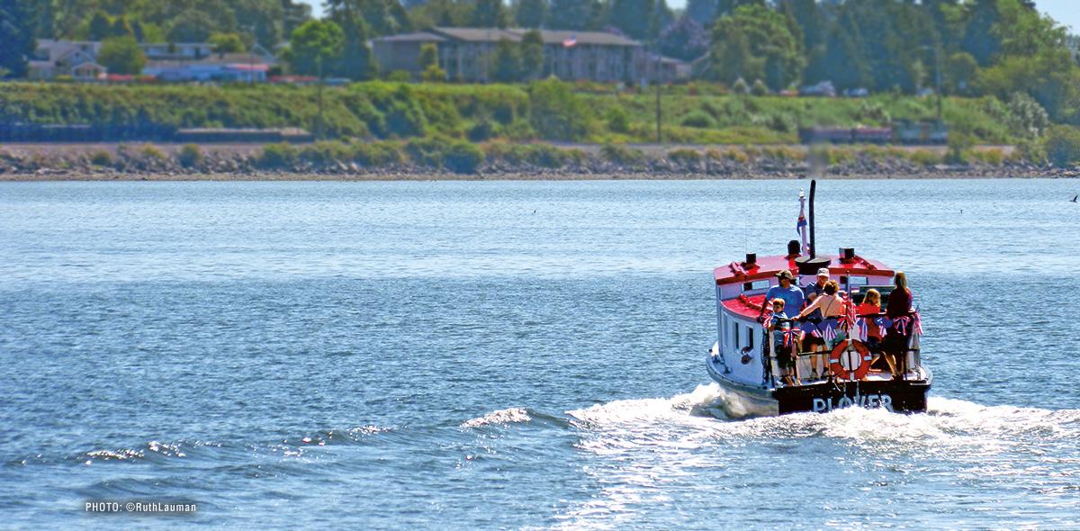 Plover Passenger Ferry Drayton Harbor - Blaine WA
