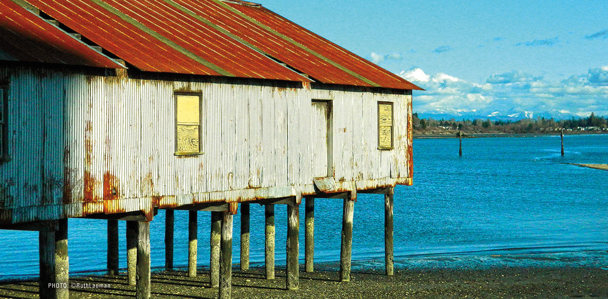 Semiahmoo Resort Wharf Buildings in Blaine WA