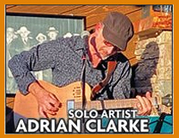 Live entertainment at The Rustic Fork - Adrian Clarke