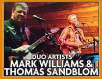 Live enteratinment at the Rustic Fork - Mark Williams
